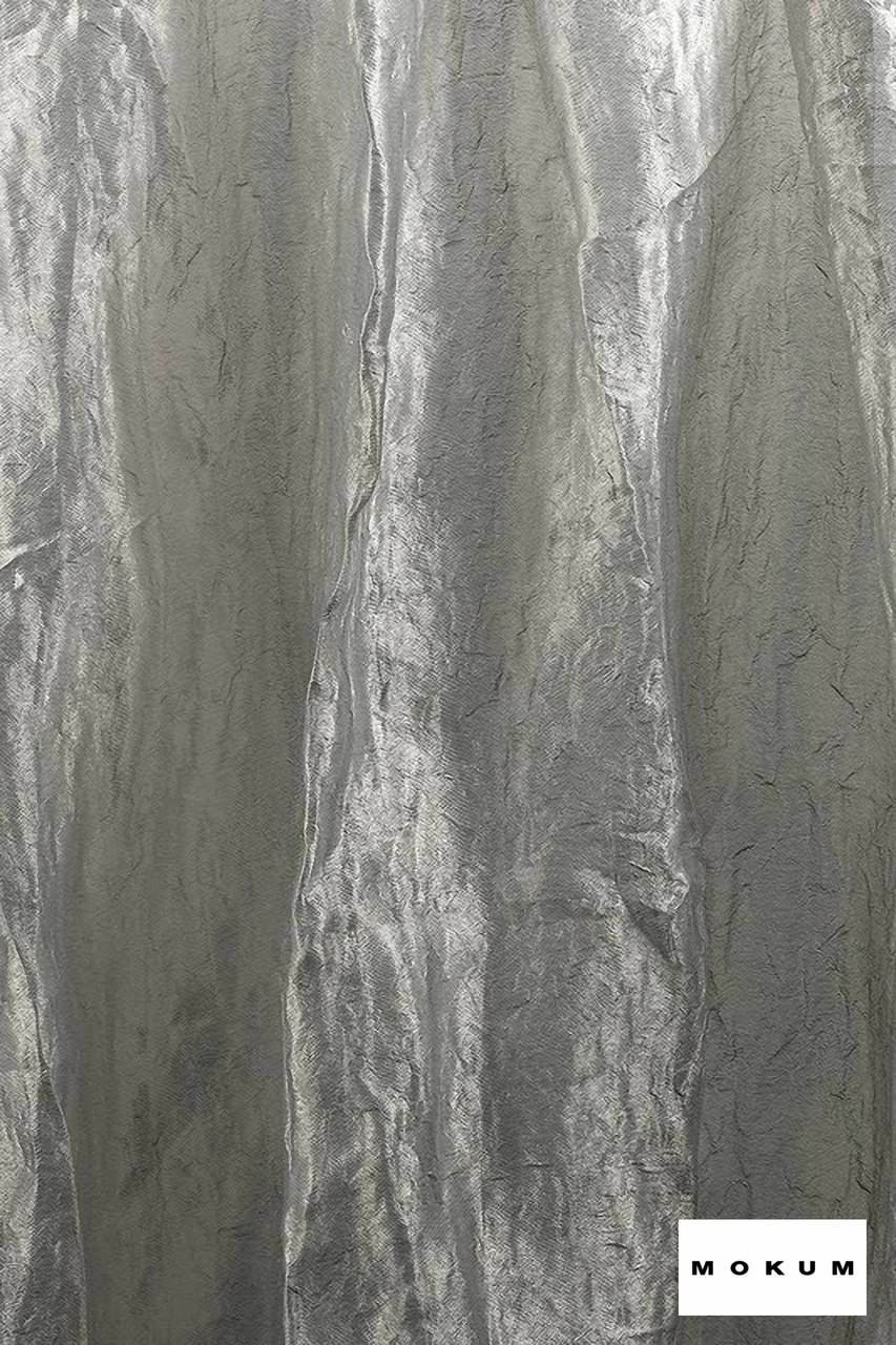 Mokum Elemental * - Cloud  | Curtain & Curtain lining fabric - Grey, Plain, Silver, Fibre Blends, Domestic Use, Dry Clean, Wide Width