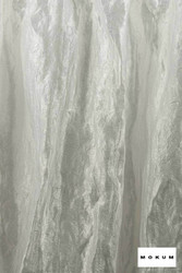 Mokum Elemental * - Ice  | Curtain & Curtain lining fabric - Wide-Width, Dry Clean, Whites, Plain, Texture, Fibre Blend