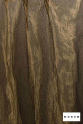 Mokum Elemental * - Copper  | Curtain & Curtain lining fabric - Brown, Wide-Width, Dry Clean, Plain, Fibre Blend
