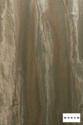 Mokum Elemental * - Gilver  | Curtain & Curtain lining fabric - Green, Wide-Width, Dry Clean, Plain, Fibre Blend