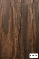 Mokum Elemental * - Rust  | Curtain & Curtain lining fabric - Brown, Wide-Width, Dry Clean, Plain, Fibre Blend