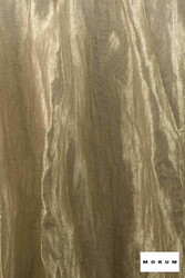 Mokum Elemental * - White Gold  | Curtain & Curtain lining fabric - Gold, Yellow, Wide-Width, Dry Clean, Plain, Fibre Blend