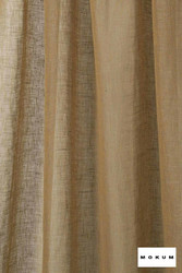 Mokum Lino * - Citrus    Curtain & Curtain lining fabric - Washable, Gold, Yellow, Wide-Width, Dry Clean, Natural, Plain, Texture, Natural Fibre