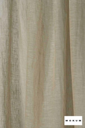 Mokum Lino * - Linen    Curtain & Curtain lining fabric - Washable, Tan, Taupe, Wide-Width, Dry Clean, Natural, Plain, Texture, Natural Fibre