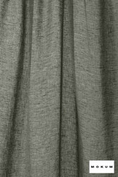 Mokum Lino * - Midnight  | Curtain & Curtain lining fabric - Washable, Black, Charcoal, Wide-Width, Dry Clean, Natural, Plain, Texture, Natural Fibre