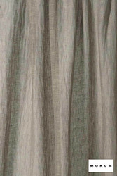 Mokum Lino * - Silver Birch    Curtain & Curtain lining fabric - Washable, Wide-Width, Dry Clean, Natural, Plain, Texture, Natural Fibre