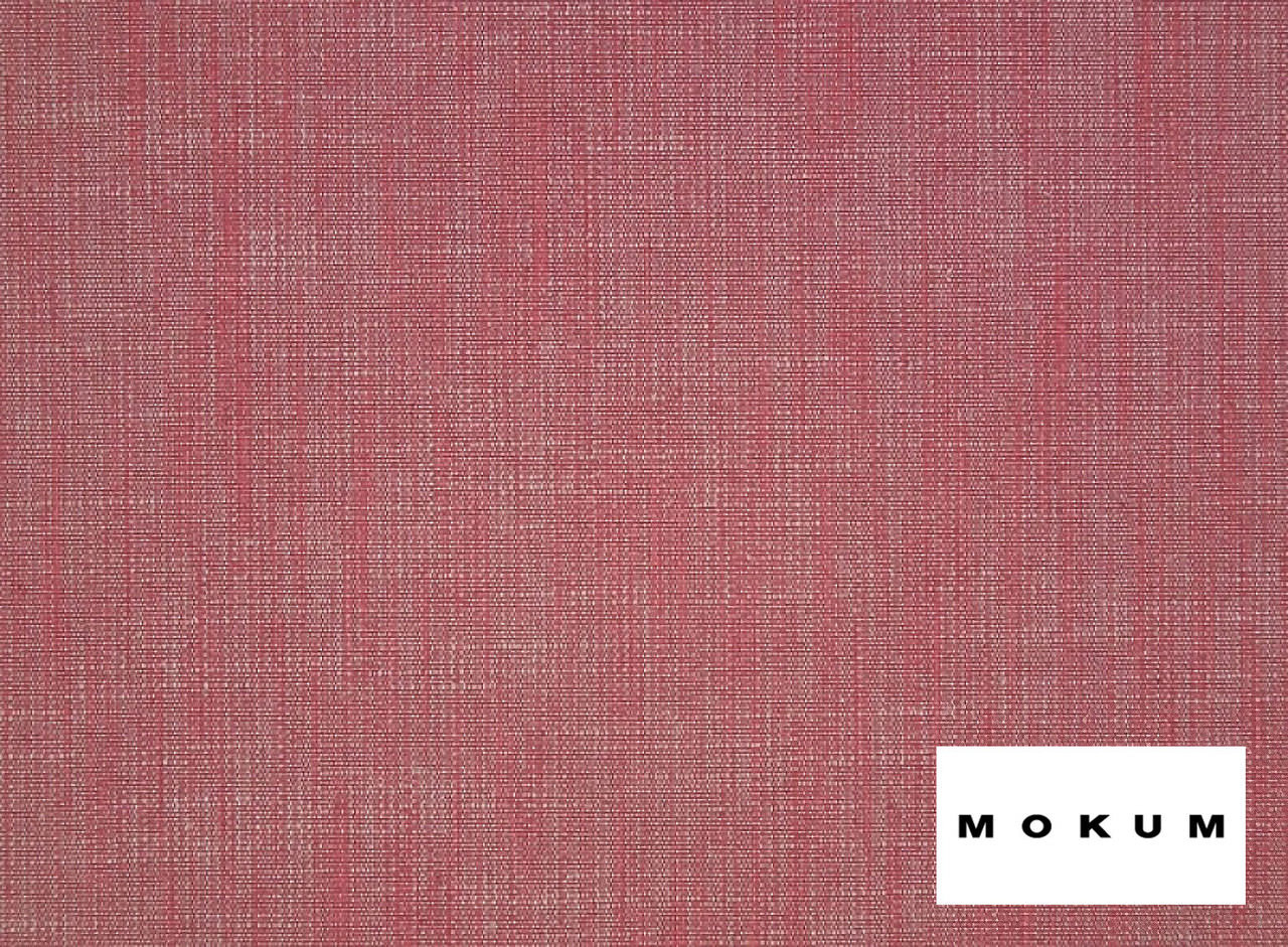 Mokum Mica - Protea  | Upholstery Fabric - Plain, Teflon, Natural Fibre, Pink, Purple, Slub, Southwestern, Domestic Use, Dry Clean, Natural, Standard Width, Strie