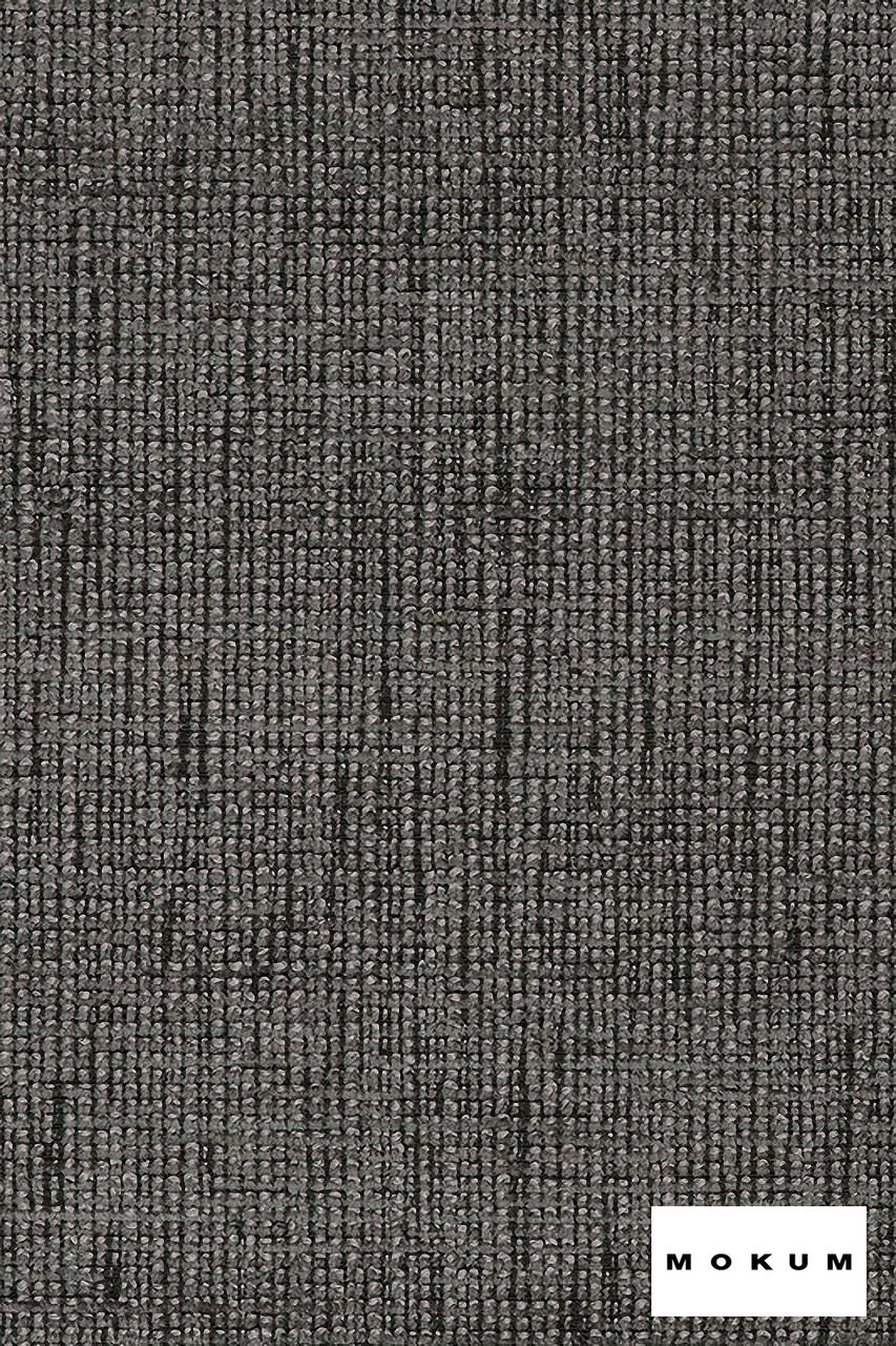 Mokum Hollywood - Night  | Upholstery Fabric - Fire Retardant, Plain, Black - Charcoal, Natural Fibre, Domestic Use, Dry Clean, Natural, Standard Width