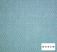 Mokum Reef - Aqua  | Upholstery Fabric - Fire Retardant, Outdoor Use, Synthetic, Turquoise, Teal, Washable, Commercial Use, Standard Width