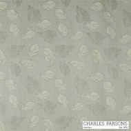 Charles Parsons Marseille - Silver  | Curtain Fabric - Grey, Craftsman, Fibre Blends, Floral, Garden, Transitional, Uncoated, Washable, Domestic Use, Standard Width