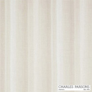 Charles Parsons Sierra - Putty  | Curtain Sheer Fabric - Beige, Linen and Linen Look, Stripe, Synthetic, Uncoated, Washable, Domestic Use, Weighted Hem, Wide Width