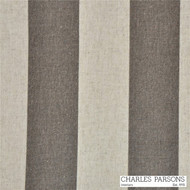 Charles Parsons Cape - Cod Driftwood  | Curtain & Upholstery fabric - Brown, Fibre Blends, Stripe, Traditional, Uncoated, Commercial Use, Standard Width