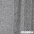 Charles Parsons Joe - Ash  | Curtain Sheer Fabric - Grey, Plain, Natural Fibre, Uncoated, Commercial Use, Natural, Weighted Hem, Wide Width