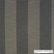 Charles Parsons Habitat - Flint  | Curtain Fabric - Brown, Stripe, Synthetic, Traditional, Uncoated, Washable, Commercial Use, Standard Width