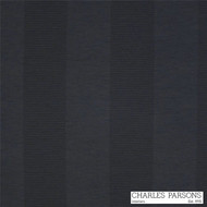 Charles Parsons Habitat - Liquorice  | Curtain Fabric - Black - Charcoal, Stripe, Synthetic, Traditional, Uncoated, Washable, Commercial Use, Standard Width