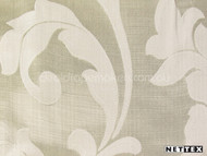 Nettex Stately Leighton Champagne MG4  | Curtain Fabric - Gold,  Yellow, White, Damask, Fibre Blends, Floral, Garden, Traditional, Domestic Use, White, Standard Width, Rococo