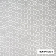 Hemptech Coolum - Awash  | Curtain Fabric - Grey, Natural Fibre, Pattern, Scale, Washable, Domestic Use, Natural, Standard Width