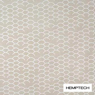 Hemptech Coolum - Sandcastle  | Curtain Fabric - Natural Fibre, Pattern, Scale, Tan, Taupe, Washable, Domestic Use, Natural, Standard Width