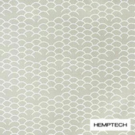 Hemptech Coolum - Seaweed  | Curtain Fabric - Beige, Natural Fibre, Pattern, Scale, Washable, Domestic Use, Natural, Standard Width