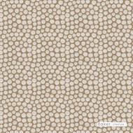Baker Lifestyle - Cilia - Sand  | Upholstery Fabric - Brown, Contemporary, Circles, Dots, Spots, Shagreen, Standard Width