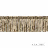 Baker Lifestyle - Nushi - Taupe  | Fringe, Curtain & Upholstery Trim - Beige, Traditional, Natural, Trimmings, Fringe, Natural Fibre