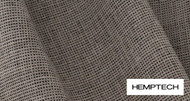 Hemptech Trieste - Sisal  | Upholstery Fabric - Natural Fibre, Tan, Taupe, Washable, Domestic Use, Dry Clean, Natural, Standard Width