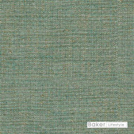 Baker Lifestyle - Echo Weave - Aqua  | Upholstery Fabric - Plain, Synthetic, Standard Width