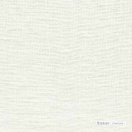 Baker Lifestyle - Barra - Chalk  | Curtain & Curtain lining fabric - Plain, White, Natural Fibre, Transitional, Natural, White, Standard Width