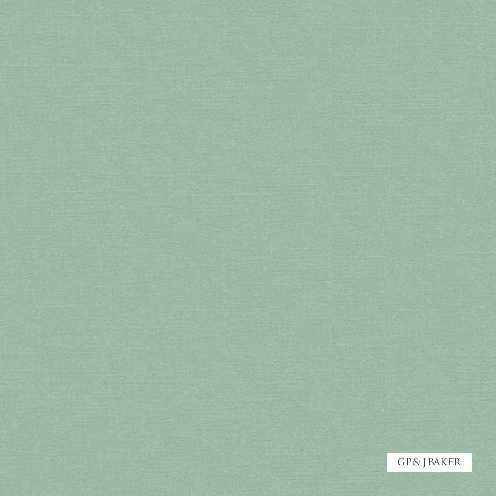 GPJ Baker - Chelsea Silk - Soft Blue  | Curtain & Upholstery fabric - Green, Silk Fabric, Natural, Plain, Natural Fibre, Standard Width