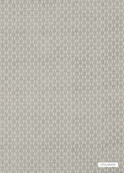GPJ Baker - Madron - Teal  | Curtain & Upholstery fabric - Grey, Natural Fibre, Small Scale, Diamond - Harlequin, Natural, Standard Width