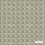 GPJ Baker - Daisy Daisy - Onyx-Grey  | Curtain & Upholstery fabric - Green, Floral, Garden, Botantical, Circles, Natural, Small Scale, Natural Fibre