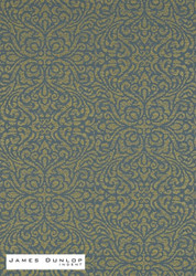 James Dunlop Indent - Lace Wallpaper - Jewel  | Wallpaper, Wallcovering - Blue, Damask, Fibre Blends, Traditional, Domestic Use
