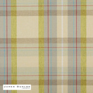 James Dunlop Indent - Lanark - Moss  | Curtain & Upholstery fabric - Fire Retardant, Check, Eclectic, Fibre Blends, Geometric, Traditional, Washable, Commercial Use, Dry Clean
