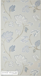 James Dunlop Indent - Fontaine Wallpaper - Porcelain  | Wallpaper, Wallcovering - Grey, Craftsman, Deco, Decorative, Fibre Blends, Floral, Garden, Domestic Use
