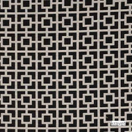 Kravet - Streetwise - Licorice  | Upholstery Fabric - Asian, Black - Charcoal, Contemporary, Small Scale, Synthetic, Lattice, Trellis, Standard Width