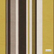 Kravet - Eclectic Range - Quince  | Upholstery Fabric - Gold,  Yellow, Natural Fibre, Silk, Stripe, Natural, Standard Width