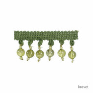 Kravet - Clear Bead - 3  | Fringe, Curtain & Upholstery Trim - Synthetic