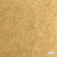 Kravet - Gilded - 24 Karat  | Upholstery Fabric - Gold,  Yellow, Metallic, Plain, Vinyl, Contemporary, Synthetic, Metal, Standard Width