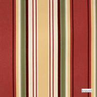 Kravet - Manoa - Sunkist  | Upholstery Fabric - Red, Outdoor Use, Stripe, Synthetic, Traditional, Standard Width