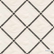 Kravet - 28327_816  | Upholstery Fabric - Beige, Black - Charcoal, Natural Fibre, Silk, Traditional, Diamond - Harlequin, Natural, Standard Width