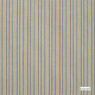 Kravet - Impasto - Caspian  | Upholstery Fabric - Beige, Blue, Multi-Coloured, Stripe, Synthetic, Traditional, Standard Width