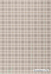 Brunschwig And Fils - Brunschwig Plaid - Dove-Mocha  | Wallpaper, Wallcovering - Beige, Brown, Check, Transitional