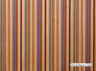 Brunschwig And Fils - Railway Velvet - Crimson-Blue  | Upholstery Fabric - Red, Multi-Coloured, Midcentury, Stripe, Synthetic, Traditional, Velvet/Faux Velvet, Strie