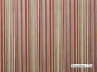 Brunschwig And Fils - Railway Velvet - Aqua-Pink  | Upholstery Fabric - Brown, Red, Multi-Coloured, Midcentury, Stripe, Synthetic, Traditional, Velvet/Faux Velvet, Strie