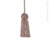 IDM - Classic Exquisite Key Tassel 1050-00 _8894 Harlequin  | Key Tassel, Curtain & Upholstery, Trim - Gold,  Yellow, Pink, Purple, Traditional, Domestic Use