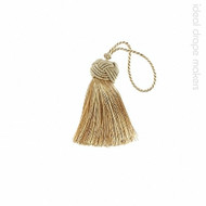 IDM - Classic Key Tassel 1050-00 _8873 Harvest Gold  | Key Tassel, Curtain & Upholstery, Trim - Gold,  Yellow, Tan, Taupe, Traditional, Domestic Use