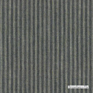 Brunschwig And Fils - Joy - Navy  | Upholstery Fabric - Black - Charcoal, Fibre Blends, Stripe, Traditional, Standard Width