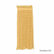 Brunschwig And Fils - Coeur Bullion-L - Daffodil  | Fringe, Curtain & Upholstery Trim - Gold,  Yellow, Synthetic, Traditional