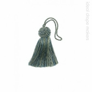 IDM - Classic Key Tassel 1050-00 _8871 Teal  | Key Tassel, Curtain & Upholstery, Trim - Traditional, Turquoise, Teal, Domestic Use