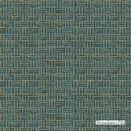 Brunschwig And Fils - Reed Texture - Oxford Blue  | Upholstery Fabric - Blue, Basketweave, Fibre Blends, Standard Width